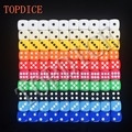 NO14 NS Poker Chips dice for Gambling Game Dice & Blue,Green,Yellow,Black,Orange  colorful colors Promotional Gifts RPG DICE SET