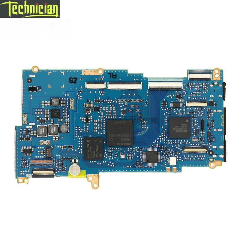 D7100 Main Board Motherboard Camera Replacement Parts For Nikon-in Camera Motherboard from Consumer Electronics    1