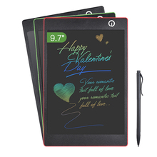 Wholesale 9.7 Inch Color LCD Writing Pad Digital Drawing Tablet Electronic Graphic Board with Stylus for Children Businessmen Deaf People
