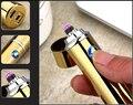 Новинка  1 шт.  электрическая двухимпульсная дуговая USB Зажигалка  Бездымная ветрозащитная Зажигалка для сигарет  перезаряжаемый безопасный...