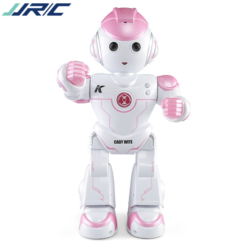 JJRC J1031 music remote control robot Katie Witt intelligent dialogue robot early education children's toys kids' holiday gifts