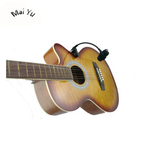 Image 2 - Profesjonalne instrumenty muzyczne gitara mikrofon pojemnościowy Lapela mikrofon dla Shure bezprzewodowy nadajnik XLR Mini 4Pin Phantom