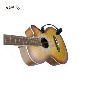 Image 2 - Profissional instrumentos de música guitarra microfone condensador lapela microfone para shure transmissor sem fio xlr mini 4pin fantasma