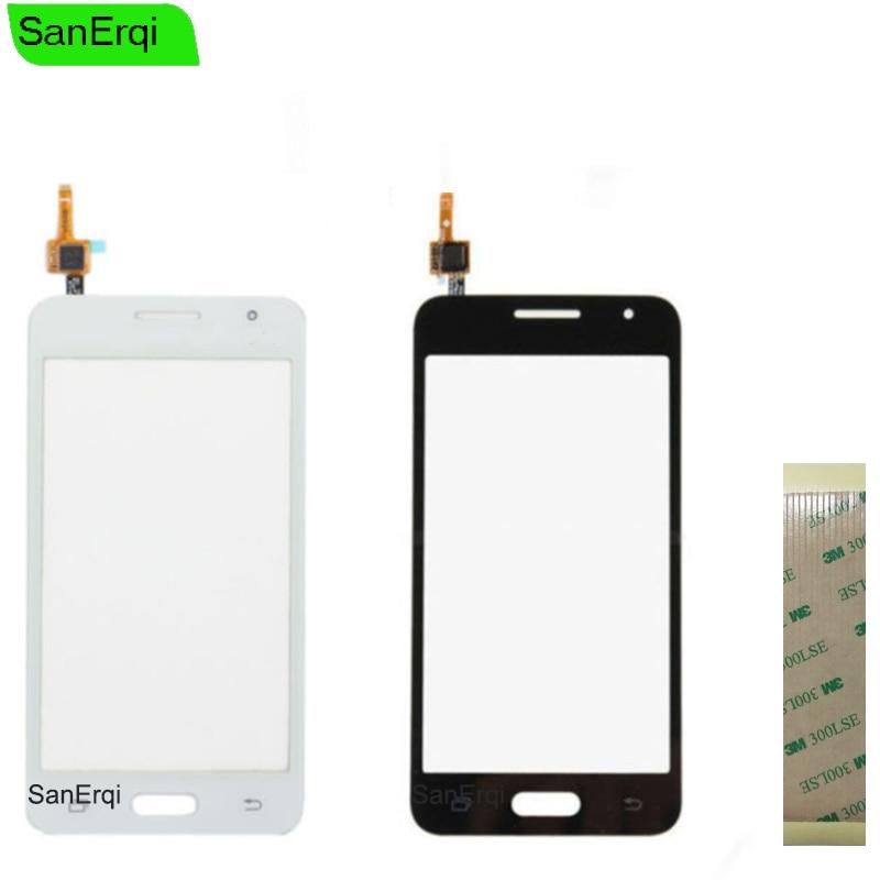 For Samsung Galaxy Core 2  DUOS II SM-G355H G355M  G355H G355 Touch Screen Digitizer Lens Outer Glass 4.5