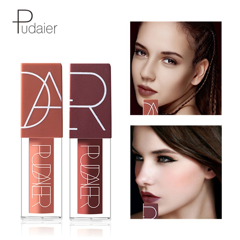 <font><b>Pudaier</b></font> 5 Colors Waterproof <font><b>Lip</b></font> <font><b>Gloss</b></font> Women Sexy Beauty <font><b>Cosmetics</b></font> <font><b>Matte</b></font> Lipgloss Nude Makeup Liquid <font><b>Lipstick</b></font> <font><b>Lips</b></font> MakeUp <font><b>Set</b></font> image