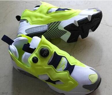 04831574e82de1 Trainers INSTA PUMP FURY GS size 36-40 famous sneaker Limited Edition  original women Yellow black design shoes sport for women