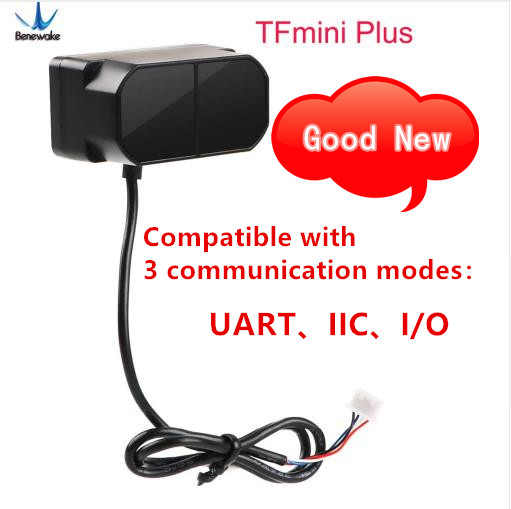 Benewake TFmini Plus LiDAR Module IP65 Micro single point TOF short distance sensor compatible with both