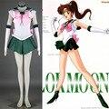 Athemis anime sailor moon makoto kino/sailor jupiter cosplay por encargo dress alta calidad