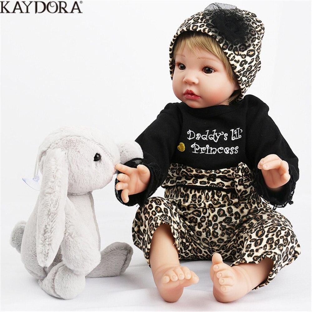 32d1c9944969f Achat KAYDORA 22 pouce Reborn bébés baby Doll En Vinyle Souple Corps 55 cm  Poupée Jouets Pour Fille Garçon Doux Silicone D anniversaire cadeau  Réaliste Pas ...