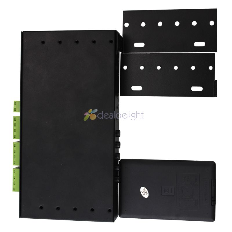 Mi Light DC12V 24V 2.4G Wireless RF RGB Led Remote + 4Pcs 3 Way Channel 4 Zones 18A Controller + 1Pcs 5V WiFi Controller Box - 4