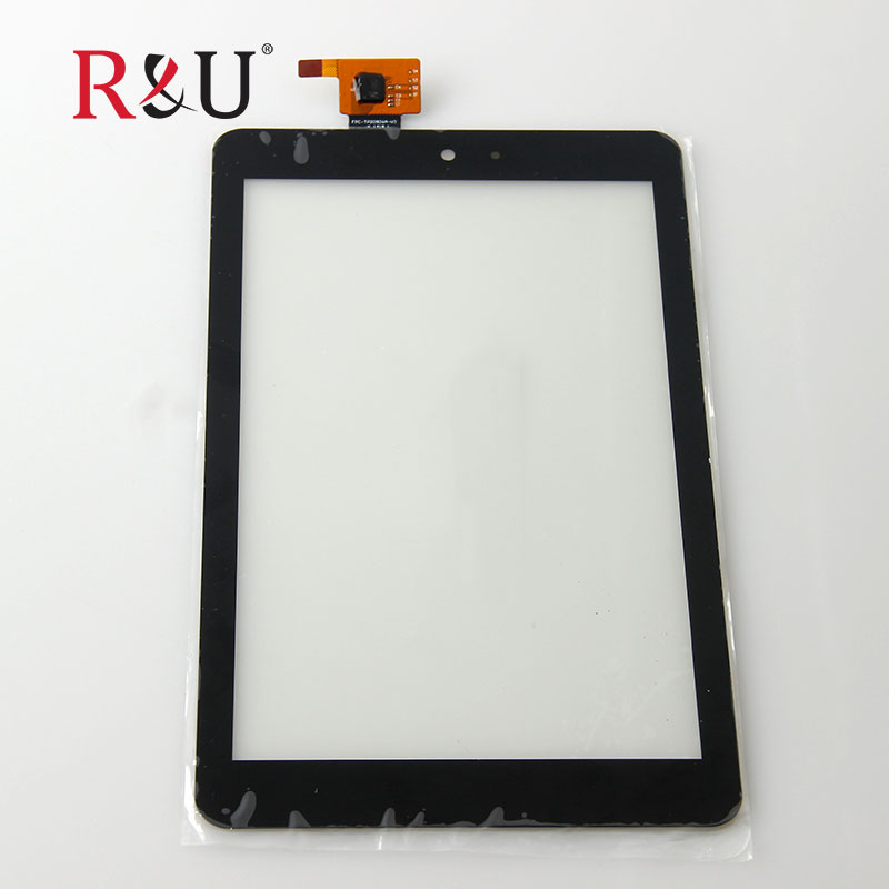 R&U new 8 FPC-TP20926A-V3 front Touch Panel Screen Digitizer outer Glass Sensor Replacement parts for Dell Venue 8 Tablet 3830 new 4 3 for gigabyte gsmart gs202 gs 202 front glass touch screen panel digitizer sensor replacement parts for gigabyte gs202
