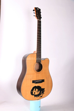 Finlay 41 Acoustic Guitar,Solid Spruce Top/Rosewood Body,Drawing carving Top, guitars china With Hard case,DK-418C dk eyewitness top 10 travel guide tallinn