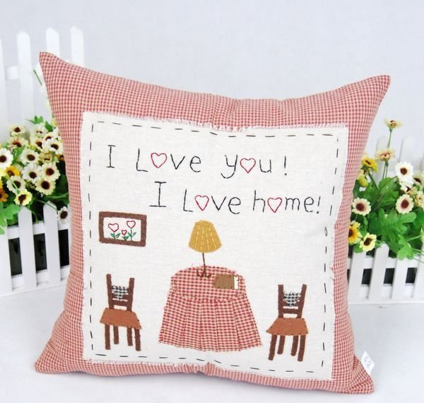 Promotion!!! Free Shipping,romantic garden style sofa cushion covers,chair seat cushions covers wholesale
