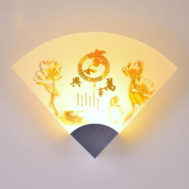 aliexpress koop nieuwe platteland led wandlamp 110 v 220 v