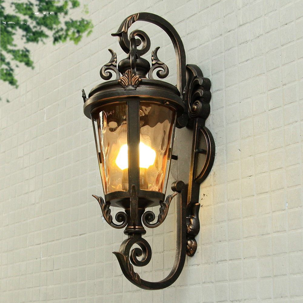 Villa entrance lamp courtyard view hallway lamps outdoor wall lamp European type waterproof rain proof Garden light ap807958 термос biostal nb 1000 b 1л