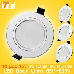 10pcs lot led downlight lamp 3w 5w 7w 9w 12w 15w 18w 230v 110v ceiling recessed.jpg 250x250