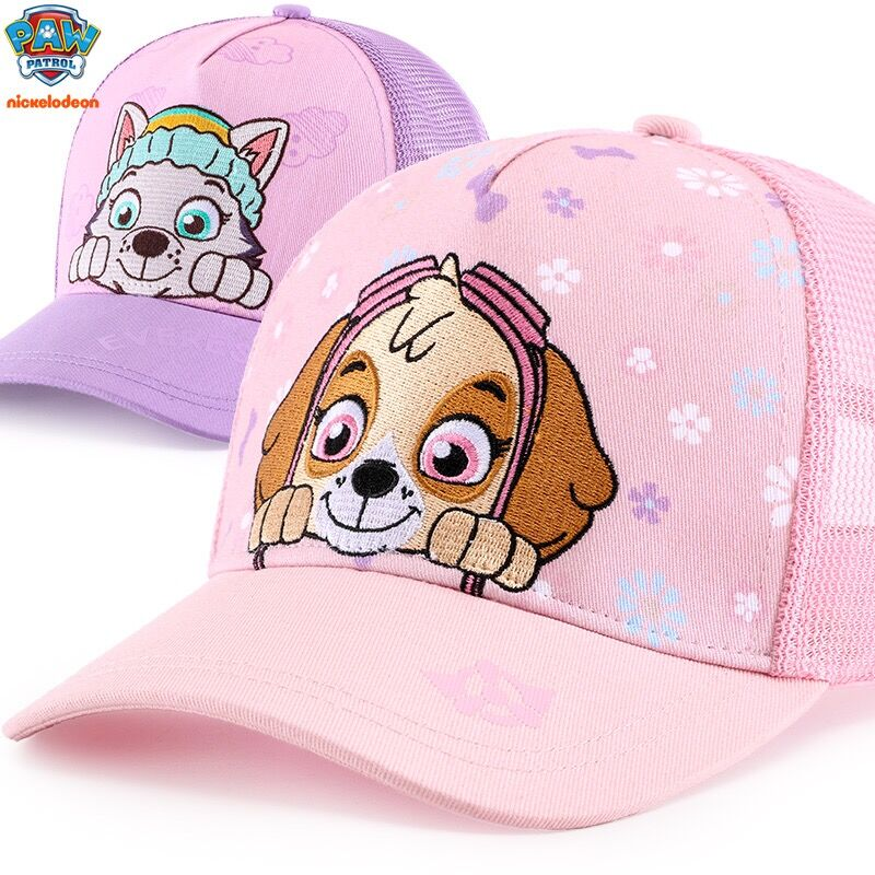 Genuine Paw Patrol 2019 New Spring Summer Autumn Flat Cap Kids Fashion Sun Hat Children Toy Birthday Christmas Gift High Quality