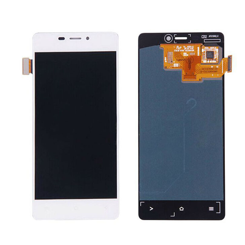In Stock Original White Fly IQ4516 LCD Display And Touch Screen Assembly For Fly IQ4516 LCD Free Shipping + Tools + Track Number