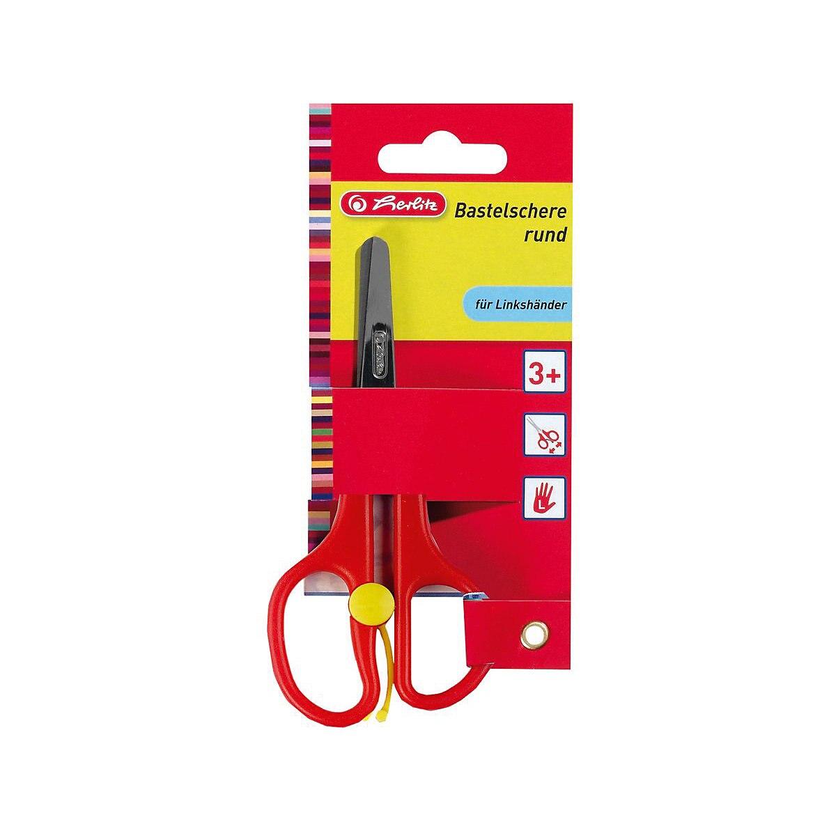 HERLITZ Scissors 6892627 Office Scissor For School For Children For Boys And Girls MTpromo