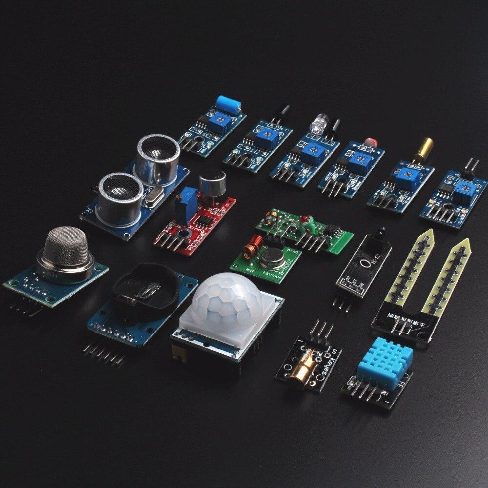 Sensor <font><b>Module</b></font> Kit 16 Type Sensor <font><b>for</b></font> <font><b>Arduino</b></font> <font><b>Raspberry</b></font> <font><b>Pi</b></font>