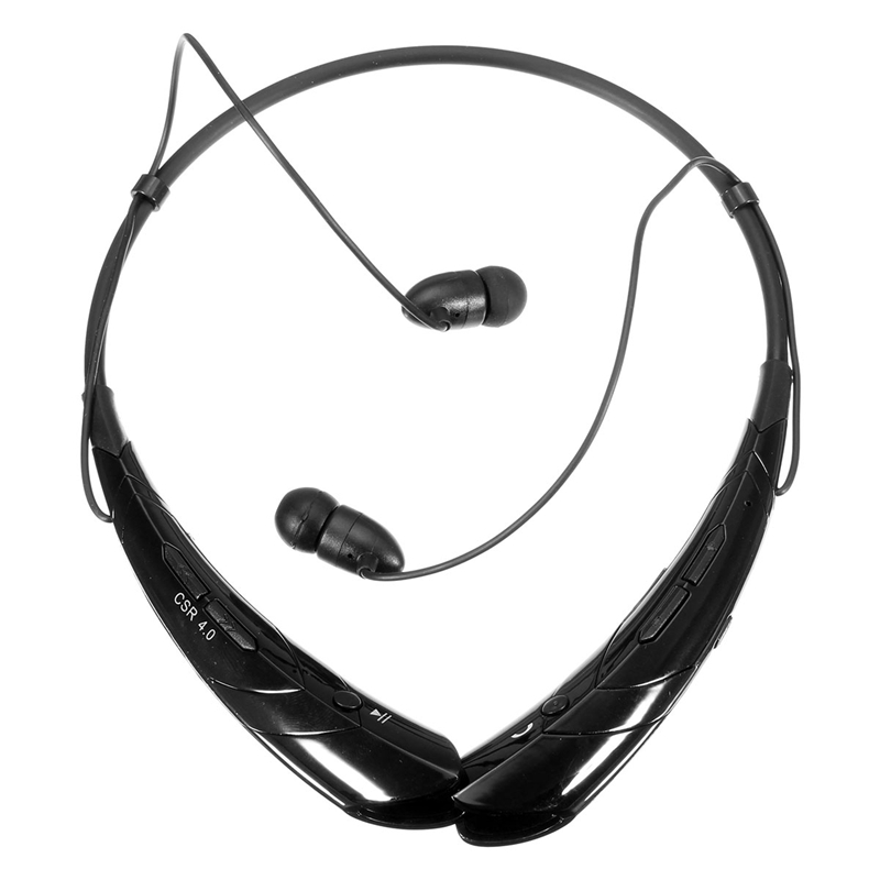 HBS-760 Bluetooth 4.0 Headset Headphone Wireless Stereo Hifi Handsfree Neckband Sweatproof Sport Earphone Earbuds For Call Music syllable a6 bluetooth 4 1 stereo earphone neckband wireless hifi music headset handsfree sport headphone with microphone