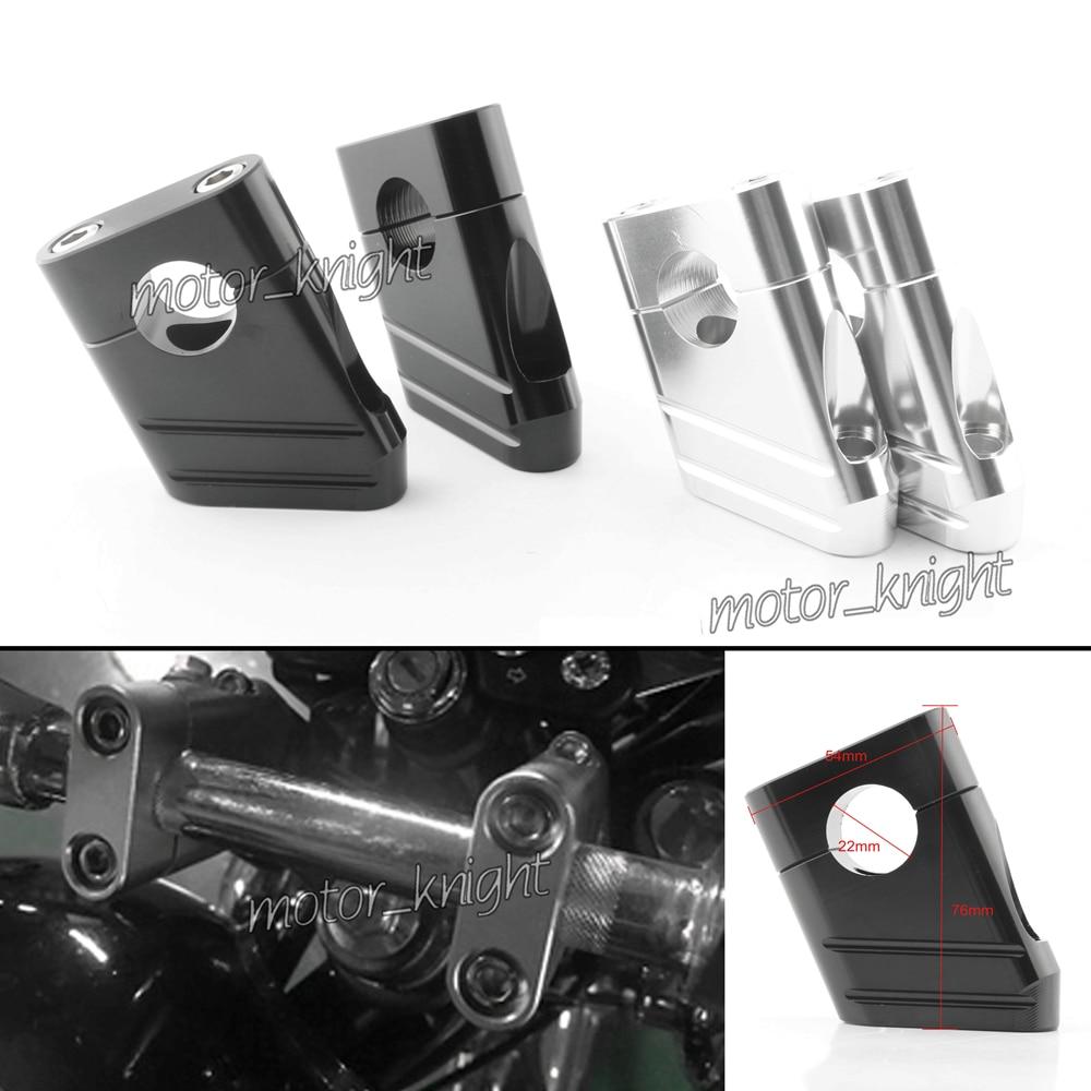 1 Pair Universal CNC Aluminum Motorcycle 7/8
