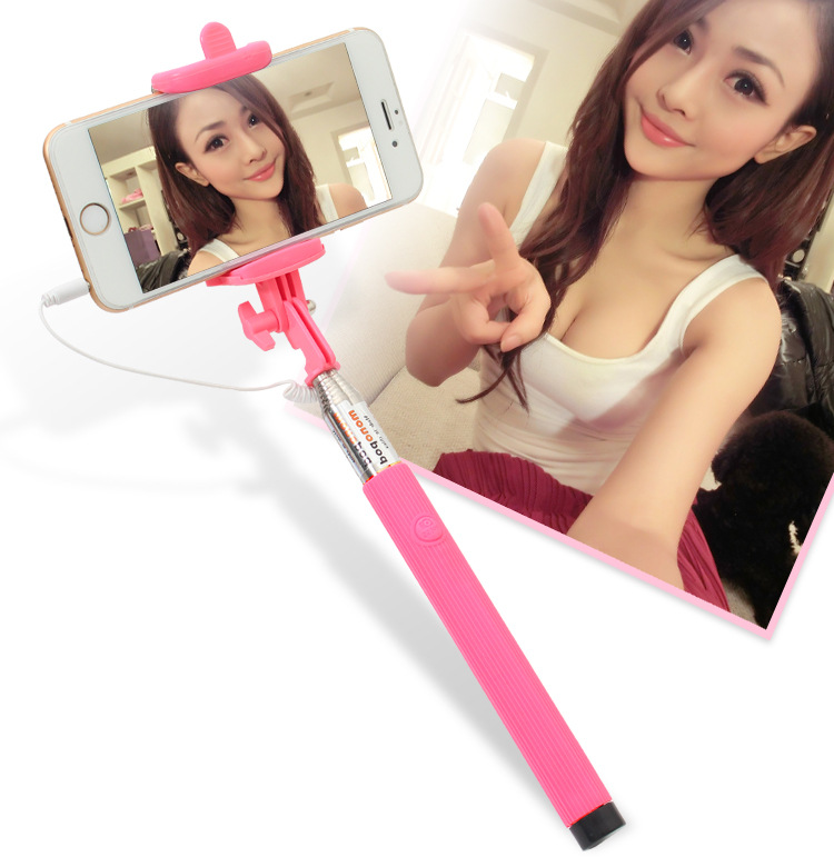 universal fashionable hot mini long selfie stick monopod for iphone for android xiaomi smartphone. Black Bedroom Furniture Sets. Home Design Ideas