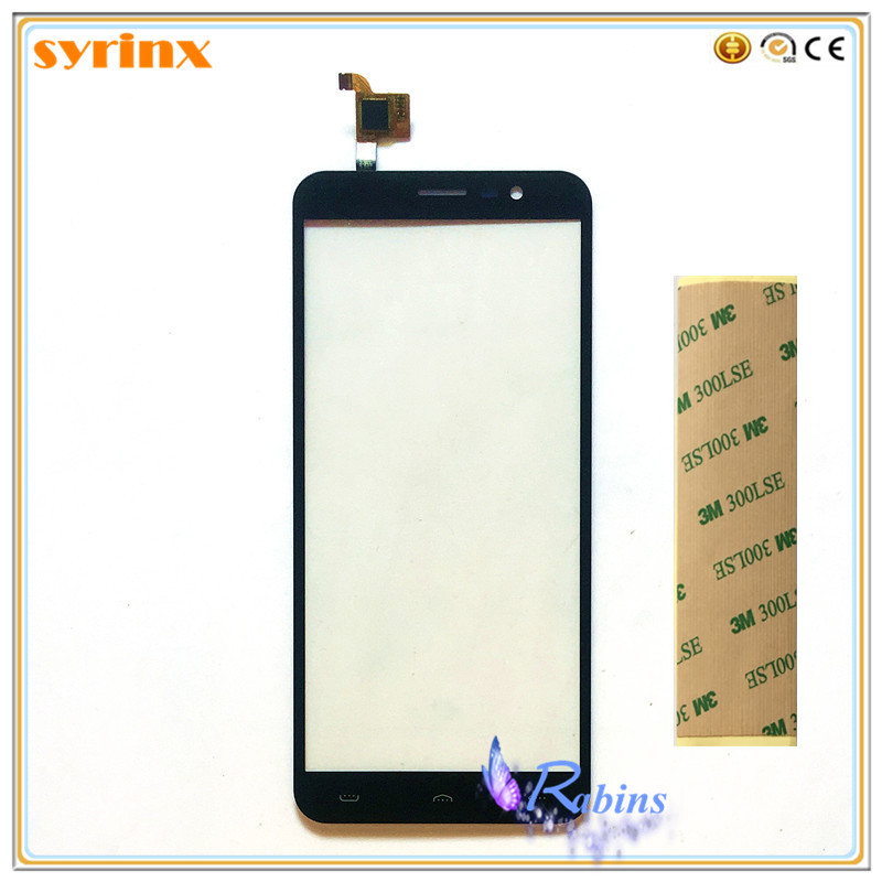 Syrinx + Band telefon Touchscreen Digitizer Front Glas Panel Outer Objektiv Sensor Touchpad Für HOMTOM S16 S 16 Touchscreen touchpad