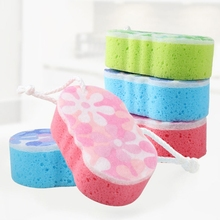 Bath Sponge Massage Multi Shower Exfoliating Body Cleaning Scrubber Cleaning