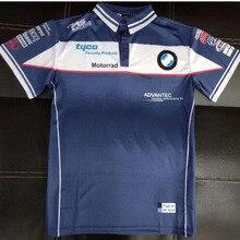 Moto GP de carreras de manga corta de los hombres Rally rápido seco  camiseta Tyco Motorrad 9b8591f39a689