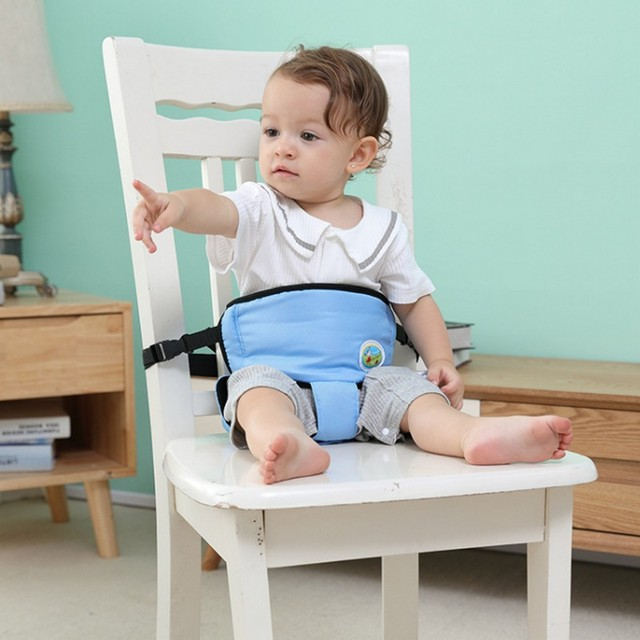 Baby Chair Seat Belt Baby Feeding Booster Seat Toddler High Chair Safety  Belt Children Dinning Chair