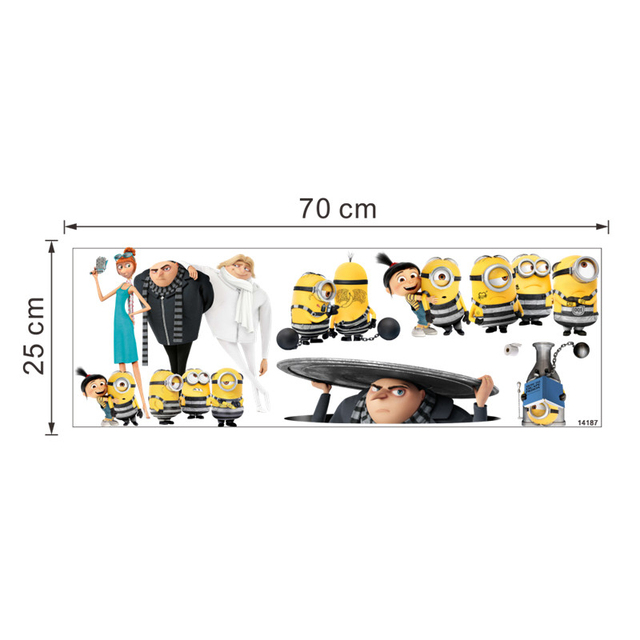 Minions Wall Stickers Decal