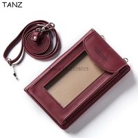 TANZ Universal Mltifunction Leather Wallet Pouch Wallet Money Cell Phone Bag For Iphone X 8 Plus