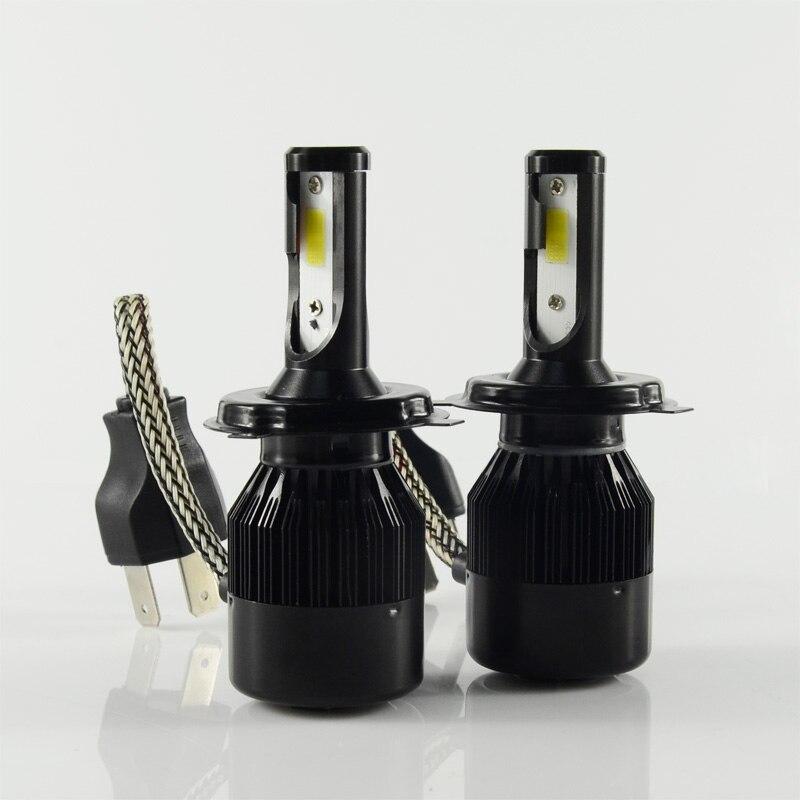 1 Set ballasts+fans+lamps 60W 6400LM LED Headlight kit H1 H3 H4 H7 H8 H9 H11 9005 9006 9012 9004 9007 H13 Car LED Headlight Bulb