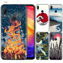 Silicone Coque Case for Xiaomi Redmi Note 7 6 5 Pro Mi A1 A2 8 Lite 9 GO Poco F1 S2 4 4X Plus Japanese style Art Japan(China)
