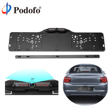 Podofo European Car License Plate Frame Rear View font b Camera b font 170 Degree Night