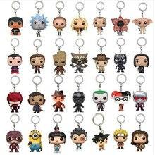 2018 New Pop fashion Toys Keychain Marvel Captain America Iron Man Groot Key Rin