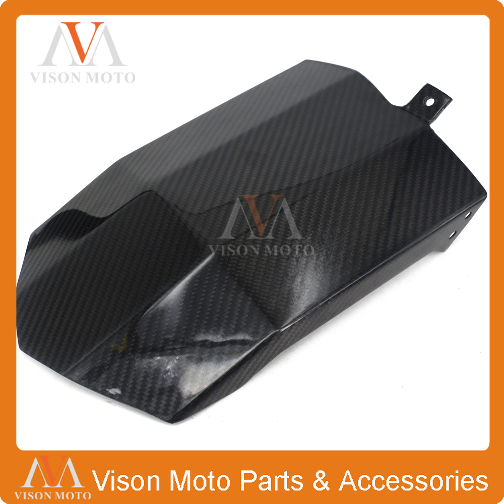 Motorcycle Carbon Fiber Rear Fender Mudguard For YAMAHA MT-09 MT09 MT 09 FZ09 FZ-09 FZ 09 2014 2015 2016 14 15 16 motorcycle adjustable folding extendable brake clutch lever logo mt 09 for yamaha mt09 fz 09 fz09 2014 2015 2016 titanium black