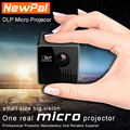 UNIC Projector P1 DLP Projector Full HD 1080P 3D Projector LED Mini Pico Proyector Best Home Cinema Theater Beamer Only 200G