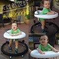 2016 venda quente carrinho de bebê mesa cinto cadeira de jantar do bebê Walker com rodas frete grátis
