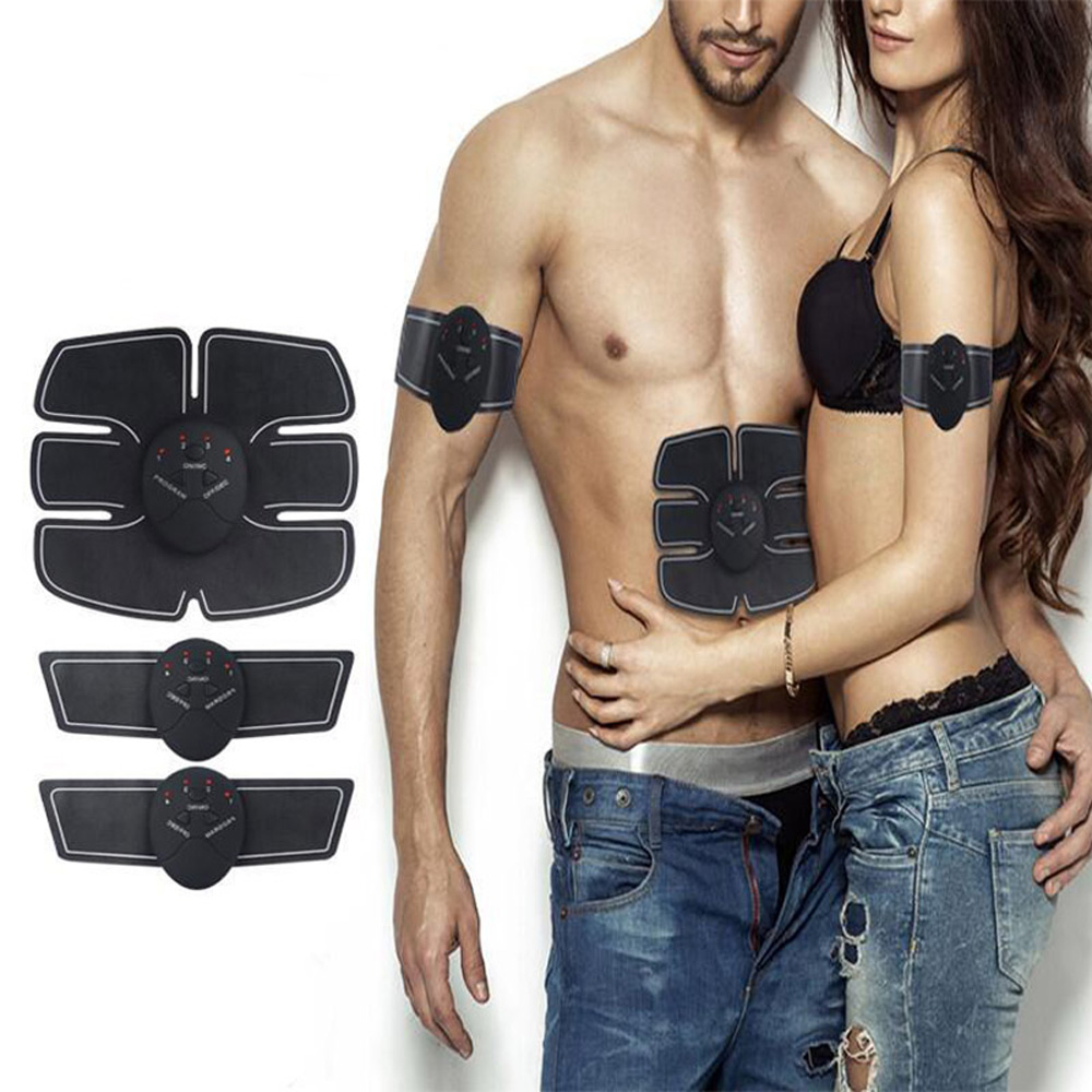 Muscle Massager Training Body Shape Fitness Set ABS Six Pad Abdominal electric muscle stimulator Massager Sticker Abdominalizer корзина д бумаг рыжий кот 17 7л сталь