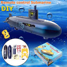 Funny RC Mini Submarine 6 Channels Remote Control Under Water Ship RC