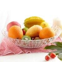 Dia 12 6 Inch Round Fruit Bowl Transparent Glass Serving Bowl Table Decorative Bowl Fashion Vegetable