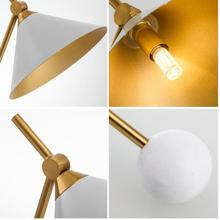 Modern table lamp props