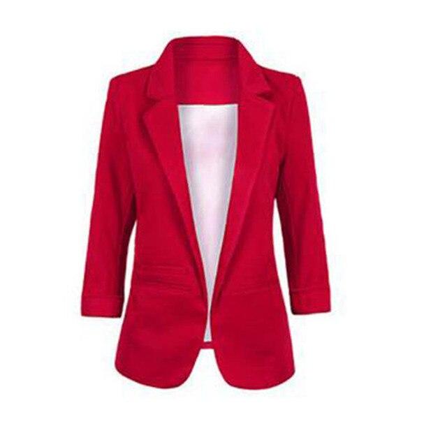 Bureau Coréenne Dames Femme Blazer Veste Couleur Bonbons De wq1Tv