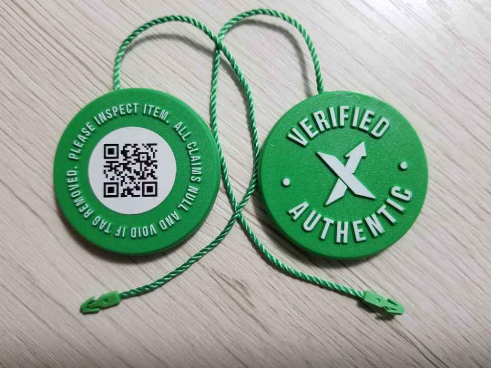 10pcs/Set Stock X OG QR Code Sticker StockX Card Green