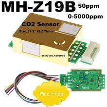 MH Z19B MH Z19 CO2 Karbon dioksit gazı sensörü