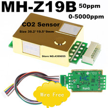 MH Z19B MH Z19 CO2 dioxyde de carbone capteur de gaz
