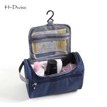 HDWISS Waterproof Oxford Portable Men Wash Bag Travel Cosmetic Bag Women Make up Toiletry Bag Necessaries Makeup Organizer Case