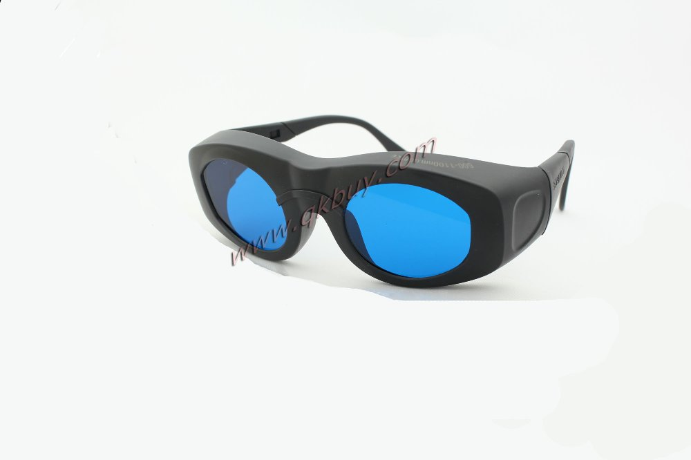 ФОТО New laser safety glasses 600-1100nm O.D 5+ CE certified high VLT%> 65% for 635, 650nm,755nm, 780nm, 808, 810, 980,1064nm laser